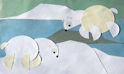 bricolage-ours-polaires-papier