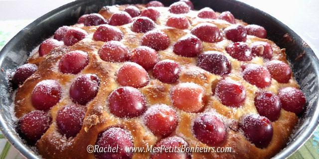 Brioche aux cerises a change du clafoutis recette for Dessert avec des cerises fraiches