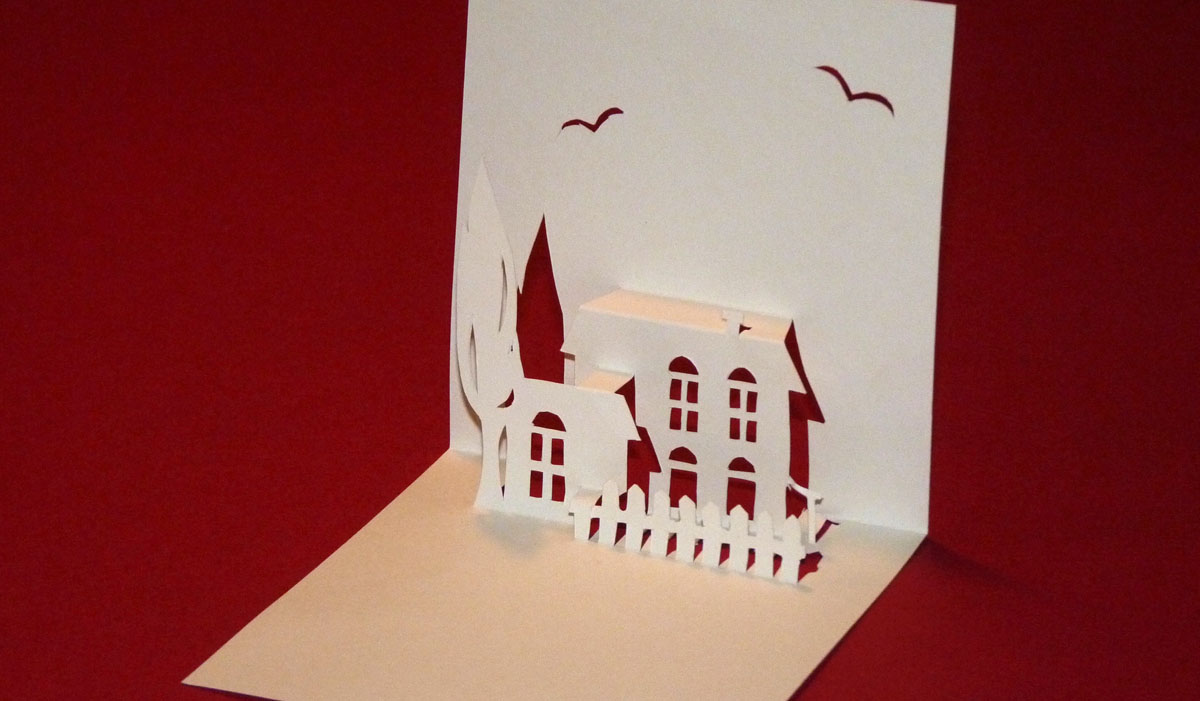 Delightful Carte De Voeux Pop Up A Fabriquer #13: Modèles De Cartes 3D : Fabriquer Des Pop Up Avec Lu0027art Du Kirigami