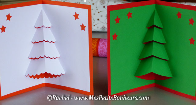 Carte 3d no l pop up sapin imprimer d couper d corer - Modele sapin de noel a decouper ...