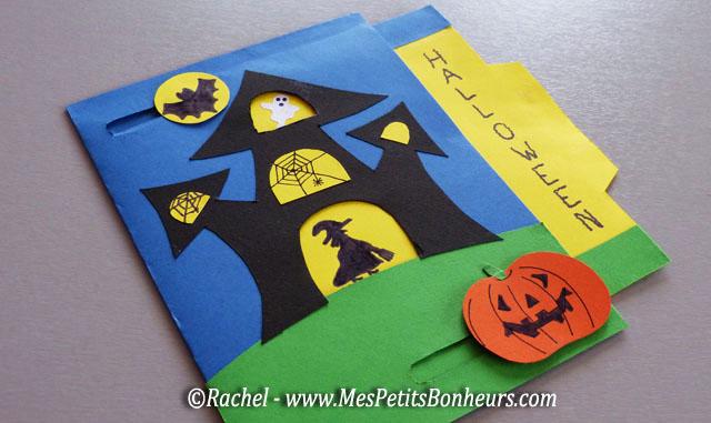 Halloween bricolages et activit s manuelles mes petits - Fabriquer araignee pour halloween ...