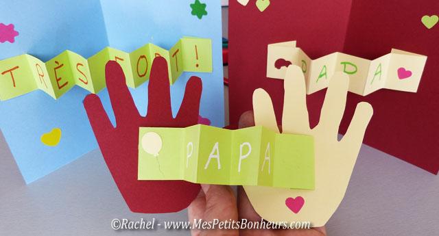 Carte f te des p res faire avec les petits maternelle - Carte fete des peres maternelle ...