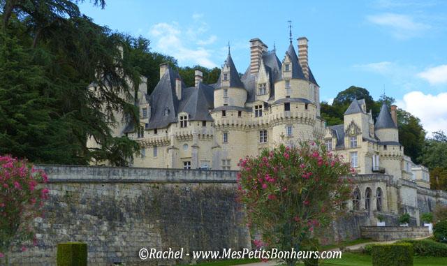 Le ch teau d uss pr s de chinon demeure de la belle au bois dormant - Chateau la belle au bois dormant ...