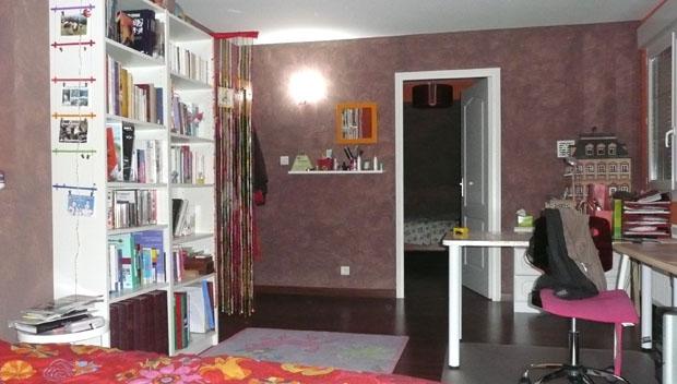 Bricolage et d co fille pour chambre ado aux couleurs for Idee pour separer une chambre en deux