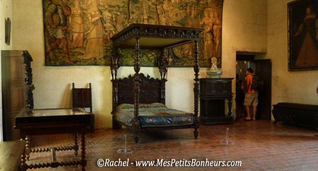 chambre château de chaumont sur loire