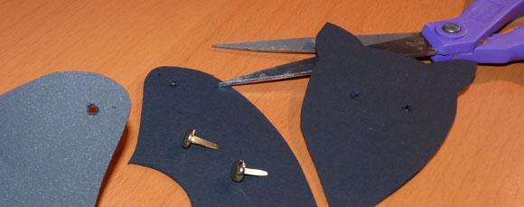 Bricolage d 39 halloween chauve souris pantin d coupage enfants for Modele chauve souris