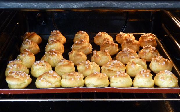 chouquettes ma recette de p 226 te 224 choux avec un robot kitchenaid