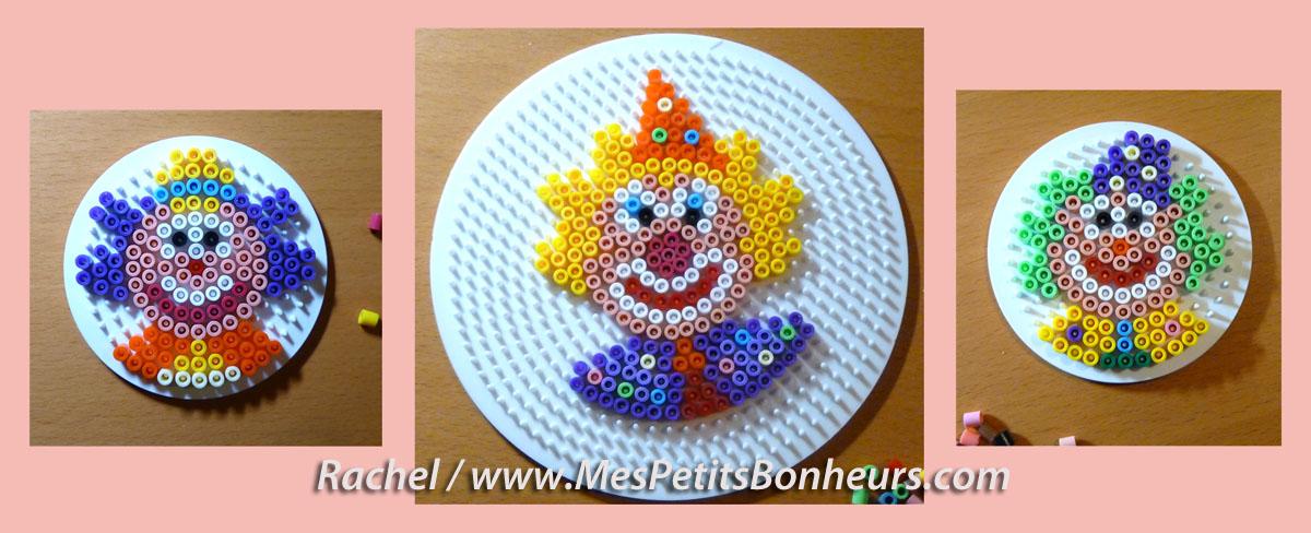 clowns-modeles-perles-hama-petite-grande-plaque-ronde