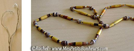 Modèles Colliers Perles Maternelle : Bricolage enfant pour la f?te des m?res fabriquer un
