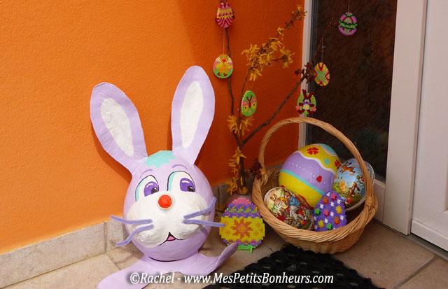 Oeufs de pâques en perles hama - joyeuses fêtes de pâques à tous !