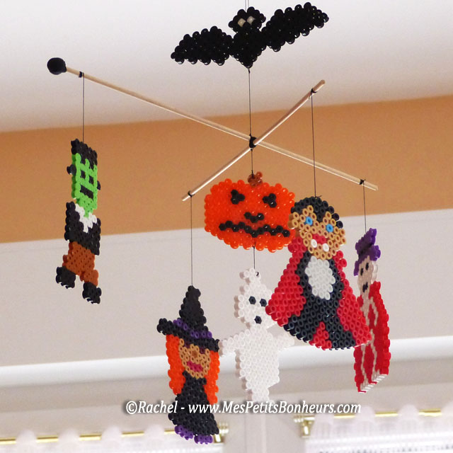 halloween en perles repasser mod les de personnages. Black Bedroom Furniture Sets. Home Design Ideas