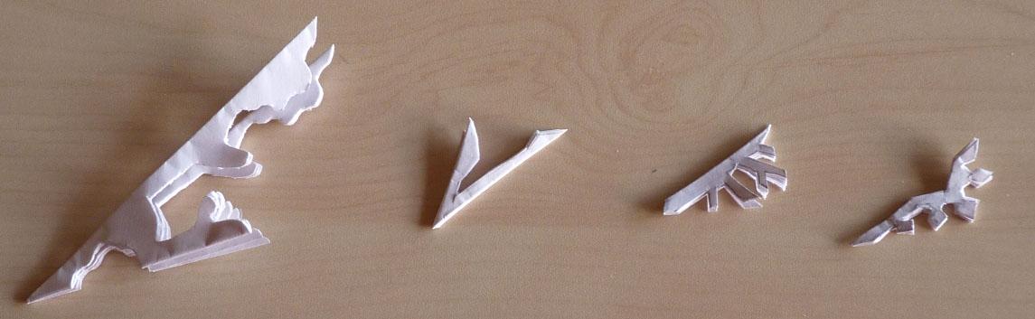 flocons en papier plier et d couper nouveaux mod les. Black Bedroom Furniture Sets. Home Design Ideas