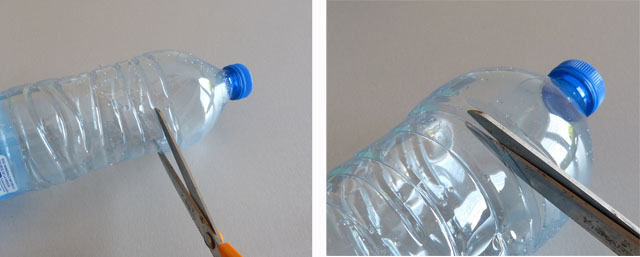 bricolage fleurs en bouteilles plastique du recyclage. Black Bedroom Furniture Sets. Home Design Ideas