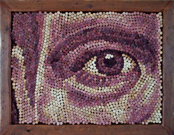 Gut gemocht Des portraits en bouchons de liège – Du vin à l'art… du recyclage ! QY82