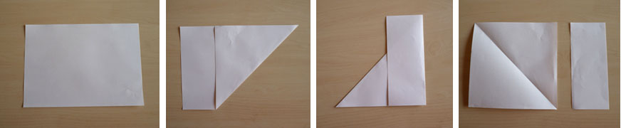 Flocons en papier plier et d couper nouveaux mod les - Plier une feuille en 3 ...