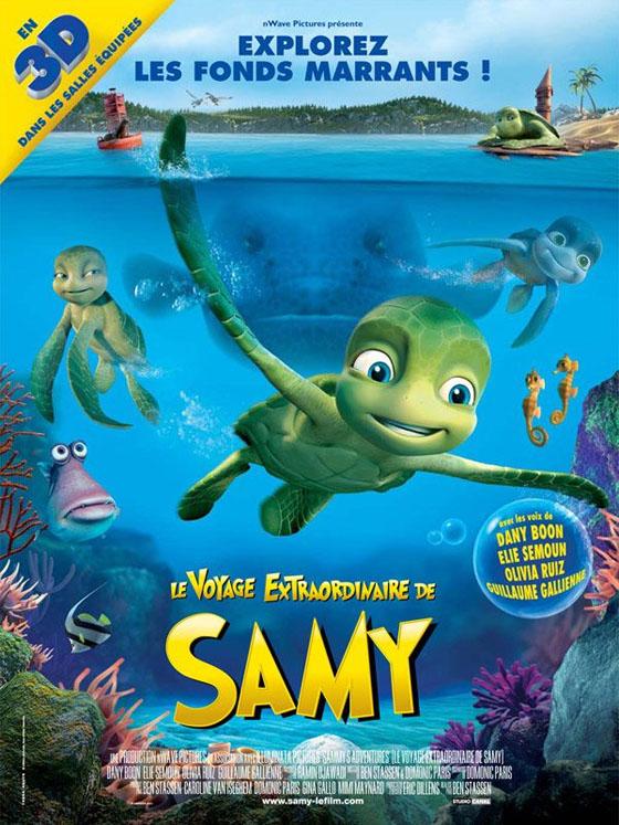Film enfant - le voyage extraordinaire de samy - sortie le 11 août