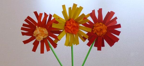 Häufig Bricolage – Fleurs en rouleau de carton (papier toilette) IZ34
