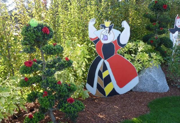 Id es d co originales avec des fleurs folie flore - Deco alice au pays des merveilles ...