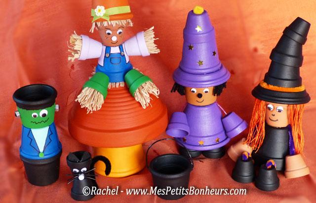 Nouveaux personnages en pots de terre cuite simple juai eu envie de reprendre cette ide et de - Nouveaux personnages en pots de terre cuite ...