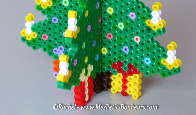 3d Christmas Tree With Hama Or Perler Beads Diy