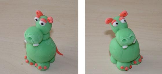 hippopotame en pate a modeler