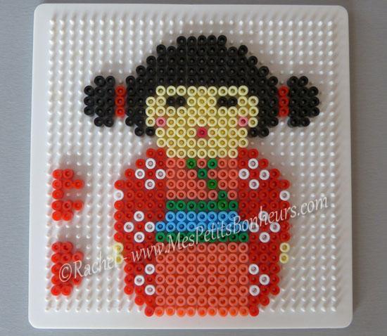 Modele de dessin pour perle a repasser a imprimer - Perles a coller fer a repasser ...