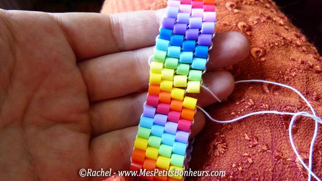 bracelet en tissage de perles hama bricolage ado pour l t. Black Bedroom Furniture Sets. Home Design Ideas