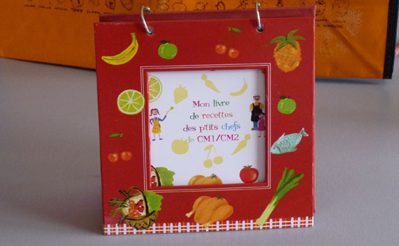 Livre De Recettes Par Des Enfants Cadeau Original Pour Une Vente D - Creer un livre de recette de cuisine