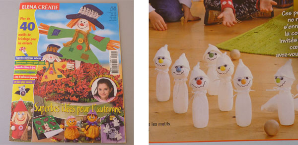 Bricolage Halloween – Fantômes Marque-Places À Faire Avec Les Enfants