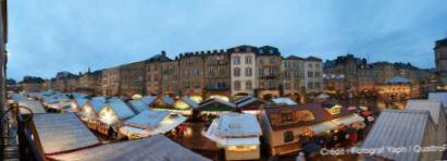 Metz les march s de no l et le village de no l sont ouverts photos - Decoration chalet de noel ...