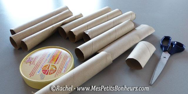 Hibou en rouleau de papier wc bricolage en rouleau de carton pour l 39 automne - Bricolage avec rouleau papier toilette vide ...