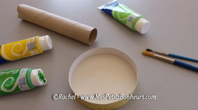 Grenouille en rouleaux de papier wc bricolage facile - Bricolage facile pour enfant ...