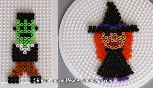 halloween en perles repasser mod les de personnages. Black Bedroom Furniture Sets. Home Design Ideas