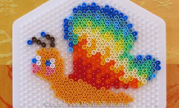 modèles de papillons en perles à repasser hama – bricolage de