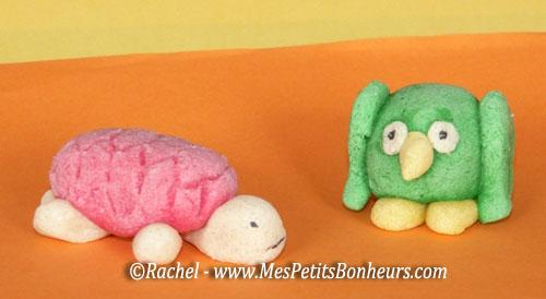 Petits objets en p te sel color e faire avec les enfants - Pate a sel modele ...