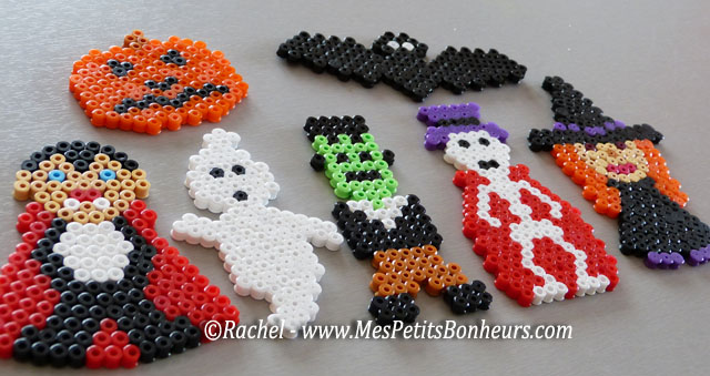 modeles personnages halloween perles hama pour mobile
