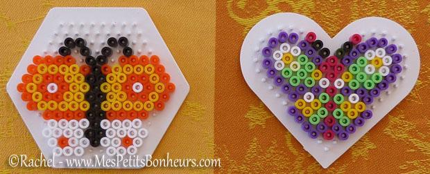 Mod les de papillons en perles repasser hama bricolage de printemps - Modele perle a repasser facile ...