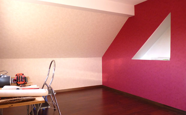 Awesome Chambre Mur Rouge Et Blanc Contemporary - Design Trends ...