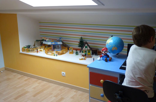 d co chambre playmobil. Black Bedroom Furniture Sets. Home Design Ideas