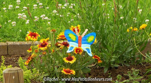 Le printemps est de retour le blog de arh - Deco jardin recyclage ...