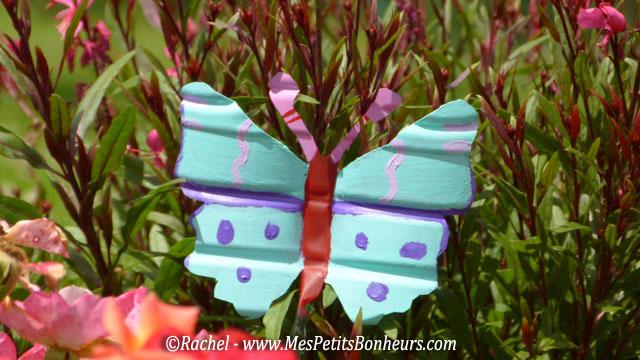 D Co Du Jardin Papillons En Bouteilles Plastiques Bricolage Recyclage