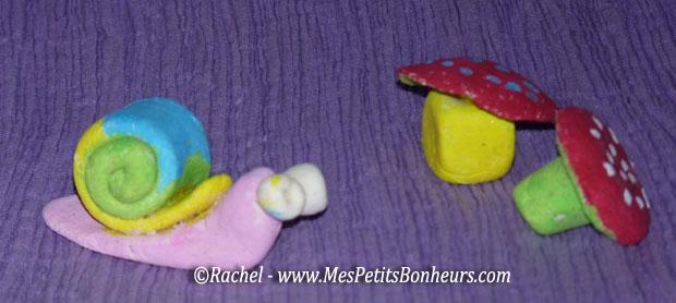 P te sel mod les pour les enfants escargot coccinelle tortue chenille etc - Pate a sel modele ...