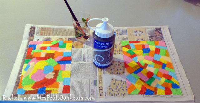 id e bricolage carte gratter couleur oiseau imaginaire. Black Bedroom Furniture Sets. Home Design Ideas