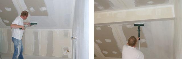 Test rouleau peinture lectrique bosch ppr 250 pratique - Rouleau peinture plafond ...