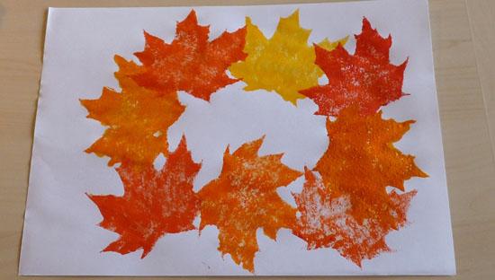 peinture_couronne_feuille_automne