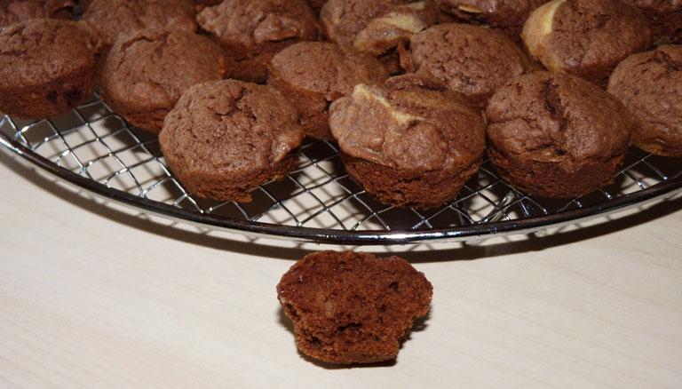Recette facile et rapide de petits g teaux chocolat orange pour no l - Gateau de noel facile et rapide ...
