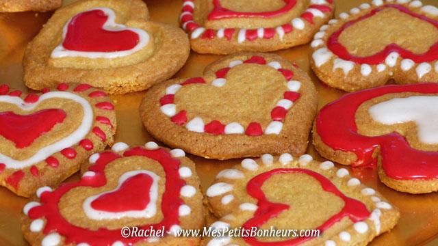 petits gateaux saint valentin