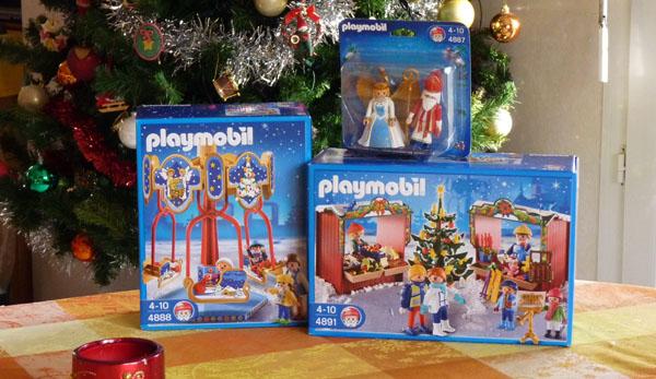 D co de no l avec les playmobils for Tati decoration de noel