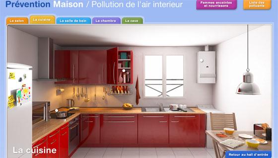 Pr vention maison conseils pour limiter accidents et pollution int rieure - Pollution air interieur ...