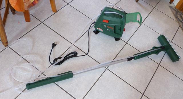 test: rouleau à peinture électrique bosch ppr 250 – pratique !